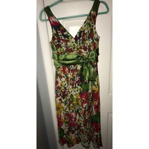 Evan Picone Floral Dress